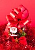 Ornamentos del rojo de la Navidad Imagen de archivo libre de regalías