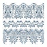 Ornamentos del vector Imagen de archivo libre de regalías