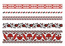 Ornamentos del vector Foto de archivo