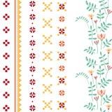 Ornamentos del vector fijados Fotos de archivo libres de regalías