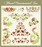 Ornamentos en el estilo ruso Imágenes de archivo libres de regalías