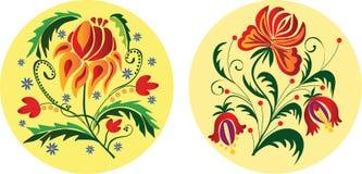 Ornamentos florales libre illustration