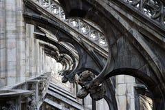 Ornamentos góticos Imagen de archivo