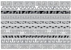 Ornamentos inconsútiles. Imagen de archivo