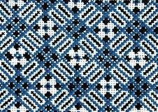 Ornamentos inconsútiles populares rumanos del modelo Bordado tradicional rumano Diseño étnico de la textura Diseño tradicional de Fotografía de archivo