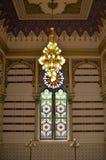 Ornamentos interiores del ayuntamiento de Sarajevo Fotos de archivo