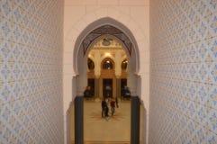 Ornamentos interiores del ayuntamiento de Sarajevo Fotografía de archivo
