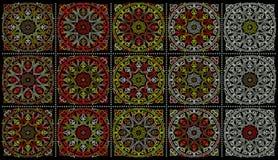 Ornamentos medio-orientales imágenes de archivo libres de regalías