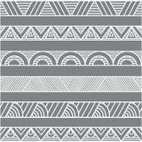 Ornamentos o fronteras geométricos del obstract Imagen de archivo libre de regalías