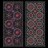 Ornamentos orientales Imágenes de archivo libres de regalías