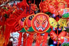 Ornamentos para el festival de linterna Imagen de archivo