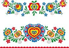 Ornamentos populares Imagen de archivo