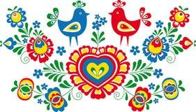 Ornamentos populares Imagen de archivo libre de regalías