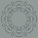 Ornamentos redondos de las volutas del color del arte abstracto Fotografía de archivo libre de regalías