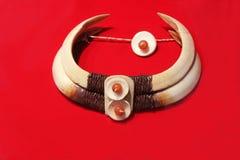 Ornamentos tribales Imagen de archivo libre de regalías