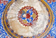 Ornamentos turcos de la teja Imagenes de archivo