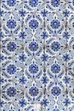 Ornamentos turcos de la teja Fotografía de archivo