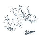 Ornamentos vectorizados, elementos del diseño Foto de archivo libre de regalías