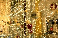 Ornamentos y decoraciones de la Navidad Fotografía de archivo libre de regalías
