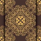 Ornamentrahmen im viktorianischen Stil und Platz für Ihren Text Element für Entwurf Es kann für die Verzierung von invitati verwe Stockfotografie