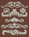 Ornamentreeks Stock Afbeelding