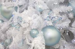 Ornaments. Christmas and New Year's ornaments Royalty Free Stock Image