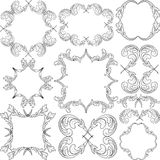 Ornaments. Frame ornaments - clip art illustration Stock Images