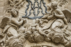 Free Ornaments And Sculptures Of Gothic Style, Spanish Ancient Art Stock Photo - 45089280