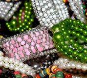 female ornaments jewelry stock photos Royalty Free Stock Photos