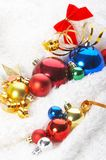 Ornaments in billowy feathers Stock Image