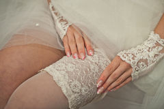 Ornaments of the bride. Royalty Free Stock Images