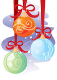 Ornaments for Christmas Royalty Free Stock Photos