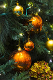 Ornaments for christmas tree - series 2 Royalty Free Stock Photography