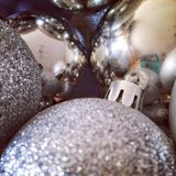 Ornaments. Closeup of ornaments Royalty Free Stock Photo