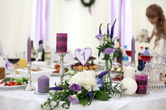 Ornaments and decorations wedding Royalty Free Stock Photography