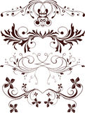 Ornaments, design elements. Vector illustration Royalty Free Stock Image