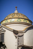 Ornaments on a dome roof of a church Royalty Free Stock Photography