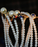 Ornaments a fotografia do fundo Fotos de Stock