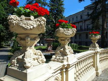 Ornaments and garden Izrael Poznanski. Royalty Free Stock Photo