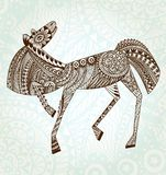 Ornaments Horse. EPS 10 Stock Photos