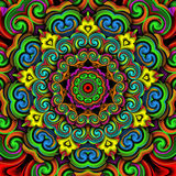 Ornaments kaleidoscope. Ornament kaleidoscope mandala for relax time Stock Photo