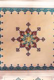 Ornaments on roof. Ornaments on mosque roof in the entrance royalty free stock photo