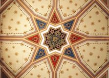 Interior of synagogue Royalty Free Stock Photography