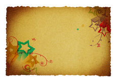 Ornaments on paper Royalty Free Stock Images