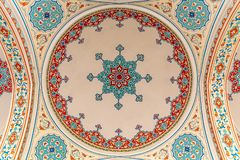 Ornaments on roof. Ornaments on mosque roof in the entrance royalty free stock image