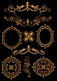 Ornaments set 5 Royalty Free Stock Images