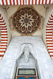Ornaments of Sherifili mosque door Royalty Free Stock Photography