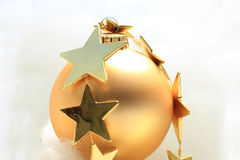 Ornaments and stars Royalty Free Stock Photos