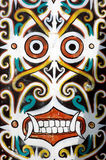 Ornaments in traditional tribal carvings. Of  Kalimantan Indonesia Royalty Free Stock Photos