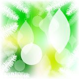 Ornaments in tree Royalty Free Stock Photography